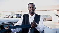A Somali man who works at the Tyson meat packing plant. The facility kills and processes between five and six thousand beef cattle every day. Kansas dominates the American beef industry, producing 25% of all beef raised in the USA. However, the industry is heavily dependent on cheap immigrant labour.