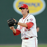 July 25, 2009: RHP Mike Lee (26) of the Greenville Drive, Class A affiliate of the Boston Red Sox, in a game at Fluor Field at the West End in Greenville, S.C. Photo by: Tom Priddy/Four Seam Images