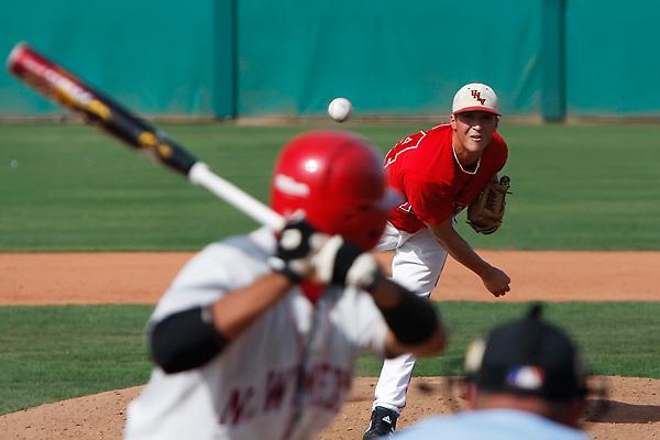 May 10, 2008. Las Vegas, NV: UNLV Rebels baseball against the New Mexico Lobos at Earl. E. Wilson Stadium. The Lobos went to win 7-4.