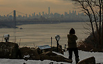Arctic air blanket the Tri-State Area with record-low temperatures