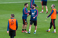 Spain Koke Resurrecion and Isco during training session the day before Spain and Argentina match at Wanda Metropolitano in Madrid , Spain. March 26, 2018. (ALTERPHOTOS/Borja B.Hojas) /NortePhoto NORTEPHOTOMEXICO