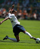 Ricardo Clark, USA Men's National Team loses to Mexico 2-1, August 12, 2009 at Estadio Azteca, Mexico City, Mexico. .   .