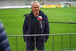 17.10.2020, Schwarzwald Stadion, Freiburg, GER, 1.FBL, SC Freiburg vs SV Werder Bremen<br /> <br /> im Bild / picture shows<br /> <br /> Christian Streich (Trainer SC Freiburg)<br /> <br /> Foto © nordphoto / Bratic<br /> <br /> DFL REGULATIONS PROHIBIT ANY USE OF PHOTOGRAPHS AS IMAGE SEQUENCES AND/OR QUASI-VIDEO.