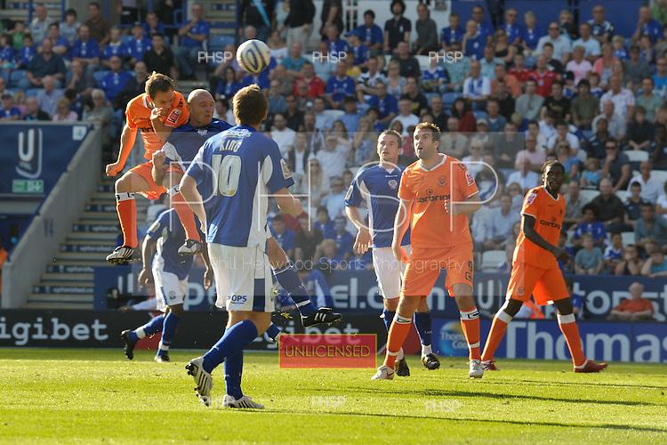 12/09/09 Leicester City v Blackpool Coca Cola Championship....© Phill Heywood