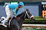 February 28, 2021: Proud Victoria #2 , ridden by David Cabrera in the Downthedustyroad Breeders Stakes for trainer Ron Moquett at Oaklawn Park in Hot Springs,  Arkansas.  Ted McClenning/Eclipse Sportswire/CSM