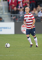 03 June 2012: US Men's National Soccer Team midfielder Michael Bradley #4 in action during an international friendly  match between the United States Men's National Soccer Team and the Canadian Men's National Soccer Team at BMO Field in Toronto..The game ended in 0-0 draw...