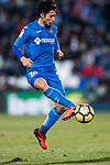Gaku Shibasaki of Getafe CF in action during the La Liga 2017-18 match between Getafe CF and Athletic Club at Coliseum Alfonso Perez on 19 January 2018 in Madrid, Spain. Photo by Diego Gonzalez / Power Sport Images