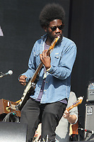 Michael Kiwanuka performs at the Barclaycard British Summertime Festival - Day Three - at Hyde Park, London on July 3rd 2016<br /> <br /> Photo by Keith Mayhew