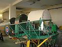 """13/03/15<br /> <br /> **Collect Photo - Best Quality Available**<br /> <br /> Tiger Moth EM-720 being restored in Doncaster.<br /> <br /> ***FULL STORY HERE:   http://www.fstoppress.com/articles/tiger-moth-restorations/    ****<br /> <br /> You may remember spending hours toiling over Airfix models, painstakingly following intricate instructions and trying not to glue your fingers together before painting your own miniature version of one of the RAF's or Luftwaffe's finest aircraft. Then spare a thought for one man who has just helped to restore and put together one World War Two Tiger Moth and is about to start piecing together another FOUR aircraft that were discovered in bits in a barn.<br /> <br /> Sixty-year-old Colin Temple-Smith – who wears a moustache that any Wing Commander would be proud of – has spent a lifetime restoring vintage cars and motorcycles and recently quit his job as a window fitter to help re-build the five bi-planes that will become part of a growing fleet of Tiger Moths at Derbyshire based Blue Eye Aviation.<br /> <br /> Today saw the first of the fully-restored five aircraft take to the skies.<br /> <br /> """"It's just like working on old bikes and cars, although they're a lot more fragile"""" explained Colin, whose wife runs the Aviators Café at Darley Moor Airfield near Ashbourne.<br /> <br /> """"When I was a teenager I used to be a member of a modelling club, making flying models from wood and canvas. They're very similar to build – it's really just the size that's changed with these.<br /> <br /> All Rights Reserved: F Stop Press Ltd. +44(0)1335 418629   www.fstoppress.com."""
