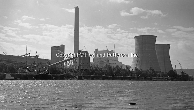 Client: Heyl and Patterson Company<br /> Ad Agency: Heyl and Patterson Marketing<br /> Product: Coal Handling and Processing Equipment<br /> Location: New Florence PA:<br /> <br /> Conemaugh Coal-Fired Power Plant on the Conemaugh River.