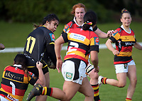Farah Palmer Cup women's rugby friendly match between Wellington Pride and Waikato at Memorial Park in Taihape, New Zealand on Saturday, 18 September 2021. Photo: Dave Lintott / lintottphoto.co.nz