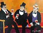 """Trois Bon Vivants""<br />