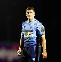 20th February 2021; Galway Sportsgrounds, Galway, Connacht, Ireland; Guinness Pro 14 Rugby, Connacht versus Cardiff Blues; Cardiff Blues centre Harri Millard