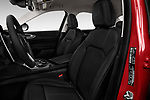 Front seat view of 2018 Alfa Romeo Guilia Auto 4 Door Sedan front seat car photos