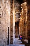 EGY, Aegypten, Medinet Habu: Tempel Ramses III. | EGY, Egypt, Medinet Habu: Temple Ramses III.