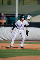 Jackson Generals Drew Ellis (29) leads off during a Southern League game against the Mississippi Braves on July 23, 2019 at The Ballpark at Jackson in Jackson, Tennessee.  Jackson defeated Mississippi 2-0 in the first game of a doubleheader.  (Mike Janes/Four Seam Images)