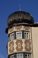 "Europe/Autriche/Tyrol/Brixelegg: Restaurant Gathof ""Herrnhaus"" - Façade"