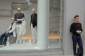 The Zara store in Oxford Street, London.