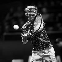 Rotterdam, The Netherlands, 9 Februari 2020, ABNAMRO World Tennis Tournament, Ahoy, Andrey Rublev (RUS). <br /> Photo: www.tennisimages.com