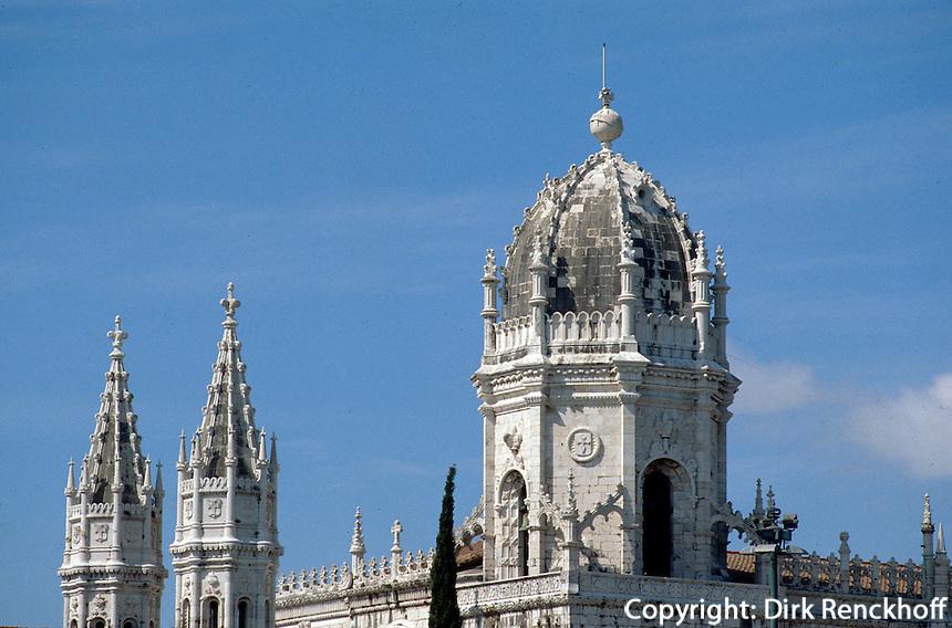 Portugal, Kloster Hieronymus in Lissabon-Belem, Unesco-Weltkulturerbe