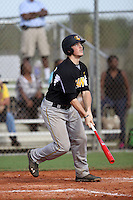 Hunter Taylor, #35 of Nandua High School, VA playing for the Evoshield Canes Team during the WWBA World Championship 2013 at the Roger Dean Complex on October 27, 2013 in Jupiter, Florida. (Stacy Jo Grant/Four Seam Images)