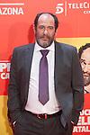 Spanish actor Karra Elejalde poses during `8 apellidos catalanes´ film premiere in Madrid, Spain. November 18, 2015. (ALTERPHOTOS/Victor Blanco)