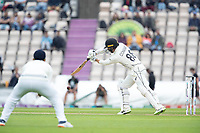 Devon Conway, New Zealand drives through cover point for four runs during India vs New Zealand, ICC World Test Championship Final Cricket at The Hampshire Bowl on 20th June 2021
