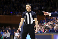 DUKE, NC - FEBRUARY 15: Official Lee Cassell during a game between Notre Dame and Duke at Cameron Indoor Stadium on February 15, 2020 in Duke, North Carolina.
