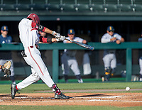 STANFORD, CA - JUNE 5: Eddie Park during a game between UC Irvine and Stanford Baseball at Sunken Diamond on June 5, 2021 in Stanford, California.