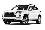 Stock pictures of low aggressive front three quarter view of a 2020 Mitsubishi Mitsubishi ASX ASX Diamond Edition 5 Door SUV