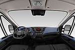 Stock photo of straight dashboard view of 2020 Iveco Daily C 2 Door Van Box Dashboard
