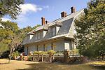 Jekyll Island, Georgia. Misletoe Cottage. 1900, Historic District.