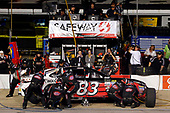 Monster Energy NASCAR Cup Series<br /> Federated Auto Parts 400<br /> Richmond Raceway, Richmond, VA USA<br /> Saturday 9 September 2017<br /> Corey LaJoie, BK Racing, Safeway / LaBella Hair Design Toyota Camry pit stop<br /> World Copyright: Russell LaBounty<br /> LAT Images