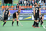 The Hague, Netherlands, June 10: Players of New Zealand line up for a penalty corner during the field hockey group match (Men - Group B) between New Zealand and The Netherlands on June 10, 2014 during the World Cup 2014 at Kyocera Stadium in The Hague, Netherlands. Final score 1-1 (0-1) (Photo by Dirk Markgraf / www.265-images.com) *** Local caption ***