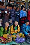 Young Bhutanese lady at Bumthang Tsechu. Arindam Mukherjee..