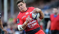 Juan Smith of RC Toulon in action during the European Rugby Champions Cup match between Bath Rugby and RC Toulon - 23/01/2016 - The Recreation Ground, Bath Mandatory Credit: Rob Munro/Stewart Communications