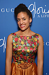 """Brittany K. Allen attends the Opening Night Performance After Party for """"Gloria: A Life"""" on October 18, 2018 at the Gramercy Park Hotel in New York City."""