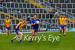 Liam Kearney Spa goes past Kieran O'Sullivan Beaufort during the Intermediate Club Championship final in Fitzgerald Stadium on Sunday