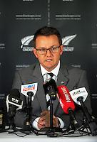 150911 International Cricket - Black Caps Australia Tour Squad Announcement
