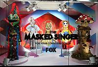 "FOX's ""THE MASKED SINGER"" Fan-Favorite Costume Display"