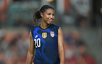 HOUSTON, TX - JUNE 13: Margaret Purce #20 of the United States during a game between Jamaica and USWNT at BBVA Stadium on June 13, 2021 in Houston, Texas.