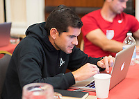 Orlando, FL - Friday Oct. 14, 2016:   A candidate during a US Soccer Coaching Clinic in Orlando, Florida.