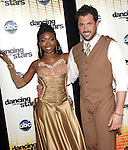 "Brandy and  Maksim Chmerkovskiy  at Dancing with the Stars ""Season 11 Premiere"" at CBS on September 20, 2010 in Los Angeles, California on September 20,2010                                                                               © 2010 Hollywood Press Agency"