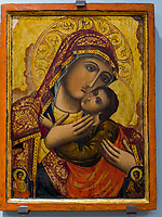 Ikonen  im Nationalmuseum, Belgrad, Serbien, Europa<br /> icons in the Natioanal Museum,  Belgrade, Serbia, Europe