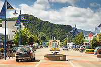 Streets of Picton, Marlborough, South Island, New Zealand