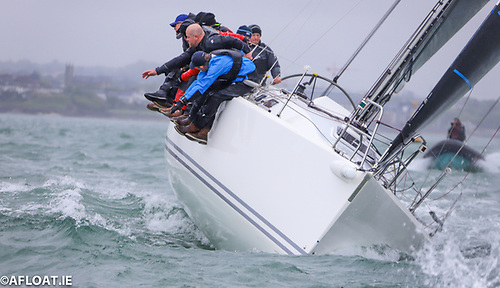 John Murphy and Richard Colwell's much-fancied J109 Outrajeous is out of next week's Dun Laoghaire to Dingle Race