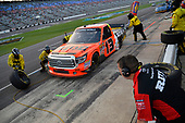 NASCAR Camping World Truck Series<br /> winstaronlinegaming.com 400<br /> Texas Motor Speedway, Ft. Worth, TX USA<br /> Friday 9 June 2017<br /> Cody Coughlin, Ride TV/ Jegs Toyota Tundra, makes a pit stop<br /> World Copyright: John K Harrelson<br /> LAT Images<br /> ref: Digital Image 17TEX2jh_02105