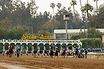 ARCADIA, CA  APRIL 24: The start of the Santa Margarita Stakes (Grade ll) on April 24, 2021 at Santa Anita Park in Arcadia, CA. (Photo by Casey Phillips/ Eclipse Sportswire/ CSM)