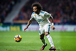 Marcelo Vieira Da Silva of Real Madrid in action during the La Liga 2017-18 match between Atletico de Madrid and Real Madrid at Wanda Metropolitano  on November 18 2017 in Madrid, Spain. Photo by Diego Gonzalez / Power Sport Images