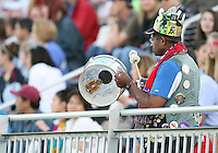 Fan of the Washington Freedom during a WPS match against the Boston Breakers at the Maryland Soccerplex, in Boyd's, Maryland, on April 18 2009. Breakers won the match 3-1.